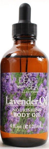 1 Dead Sea Collection Nourishing Lavender Body Oil For Delicate Sensitive Skin
