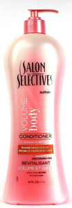 1 Salon Selectives Volume Body Conditioner Biotin Color Protect Paraben Free