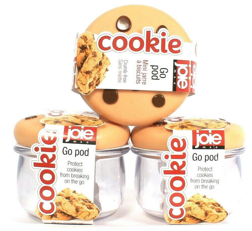 3 Ct Joie MSC Cookie Go Pod Protect From Breaking On Go BPA Free Dishwasher safe