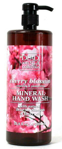 1 Bottle Dead Sea Collection 33.8 Oz Cherry Blossom Pampering Mineral Hand Wash