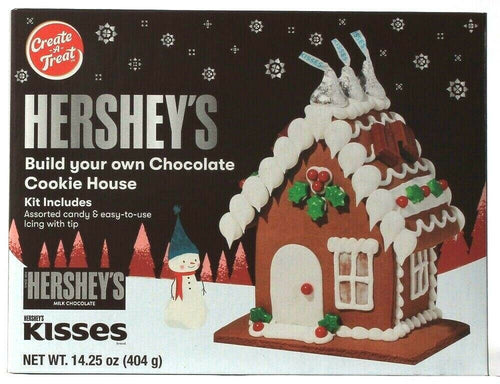 1 Create a Treat Hersheys Build Chocolate Cookie House Candy Icing With Tip