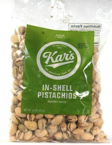 1 Kars The American Trail Mix Detroit Born 1933 In Shell Pistachios 16oz Bag