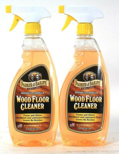 1 Bottle Parker & Bailey 22 Oz Advanced Formula Wood Floor Cleaner & Shine Spray