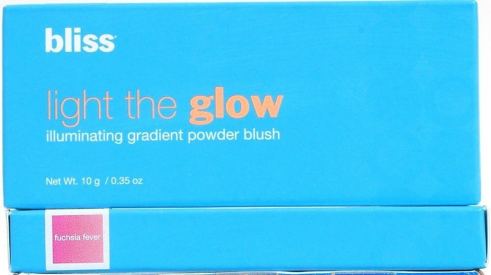 2 Bliss Fuchsia Fever Light The Glow Radiant Illuminating Gradient Powder Blush