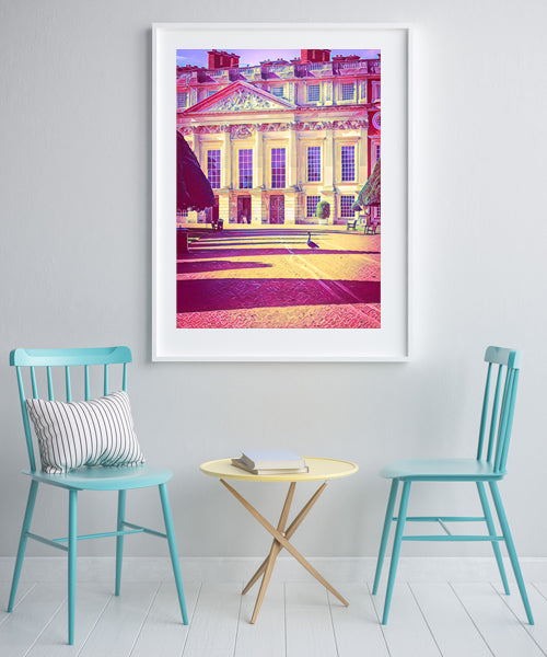 Hampton Court Palace, Goose Crossing - Fine Art Giclée Print (30x40 mounted)