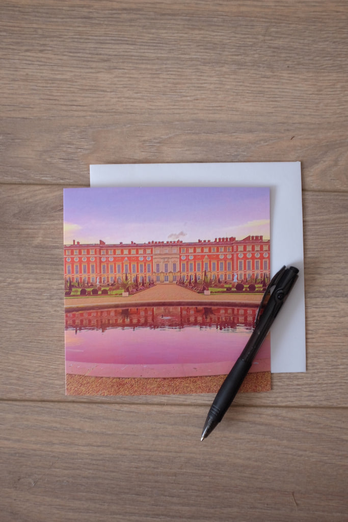 Hampton Court Palace Privy Gardens Greeting Card - Free Delivery