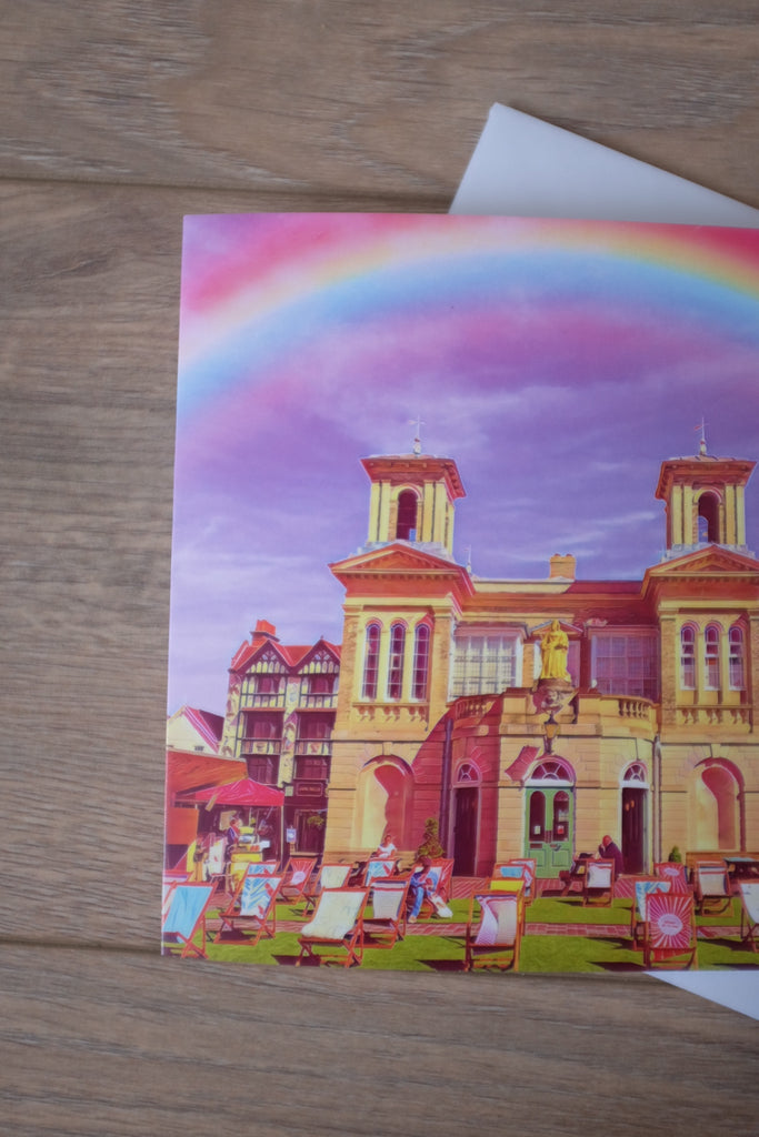 Kingston Market House Greeting Card - FREE DELIVERY