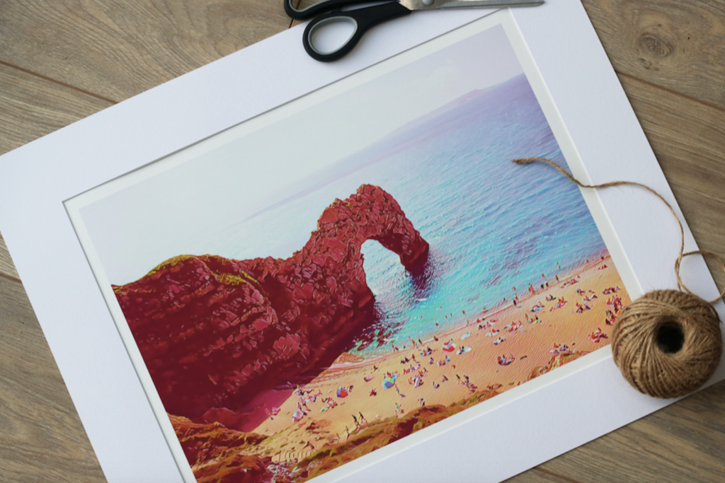 Durdle Door - Limited Edition Fine Art Giclée Print (30x40 mounted)