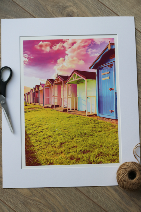 Brightlingsea Beach Huts - Limited Edition Fine Art Giclée Print