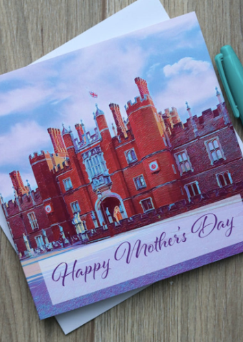 Hampton Court Palace Mother's Day Card - Free Delivery