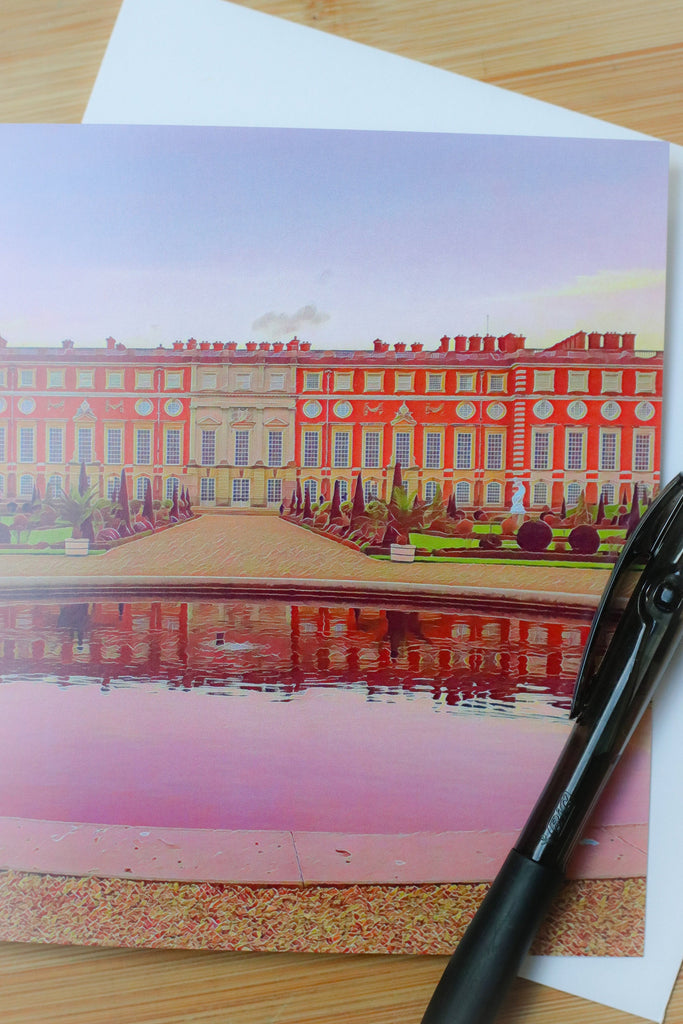 5 Hampton Court Palace Privy Gardens Pack of Cards by Katie Corcoran London - FREE DELIVERY