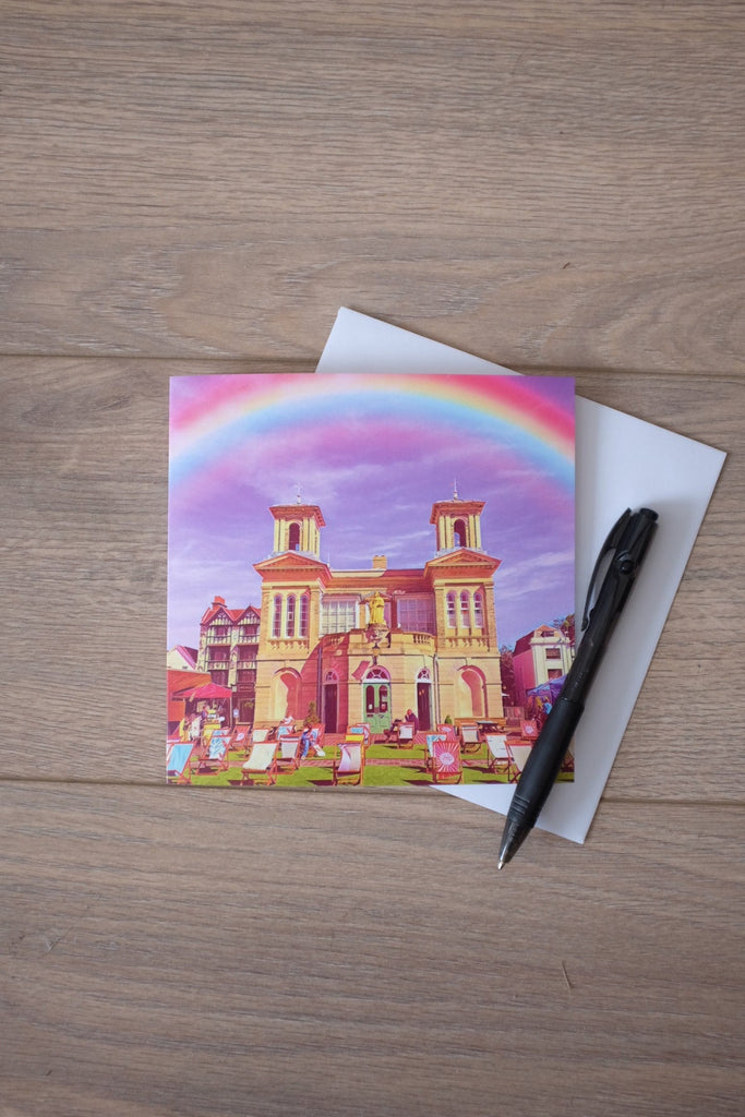 5 Kingston Market House pack of luxury cards by Katie Corcoran London - FREE DELIVERY