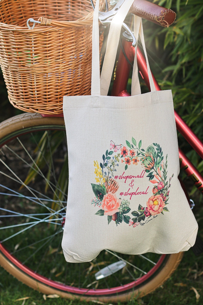 Shop Local Tote Bag by Katie Corcoran - FREE DELIVERY