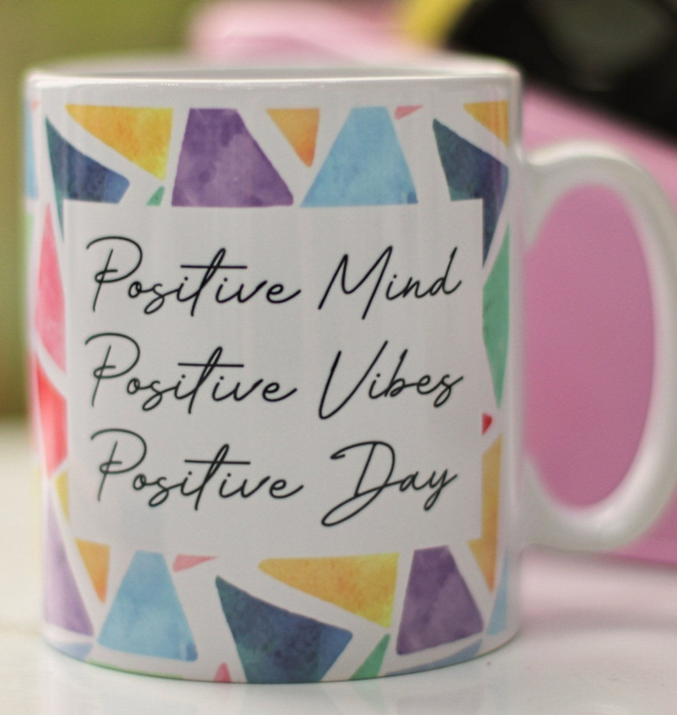 Positive vibes mug - Be kind quote mug - positive day mug - positive mind gift -  positive vibes gift for a friend - mental health gift uk