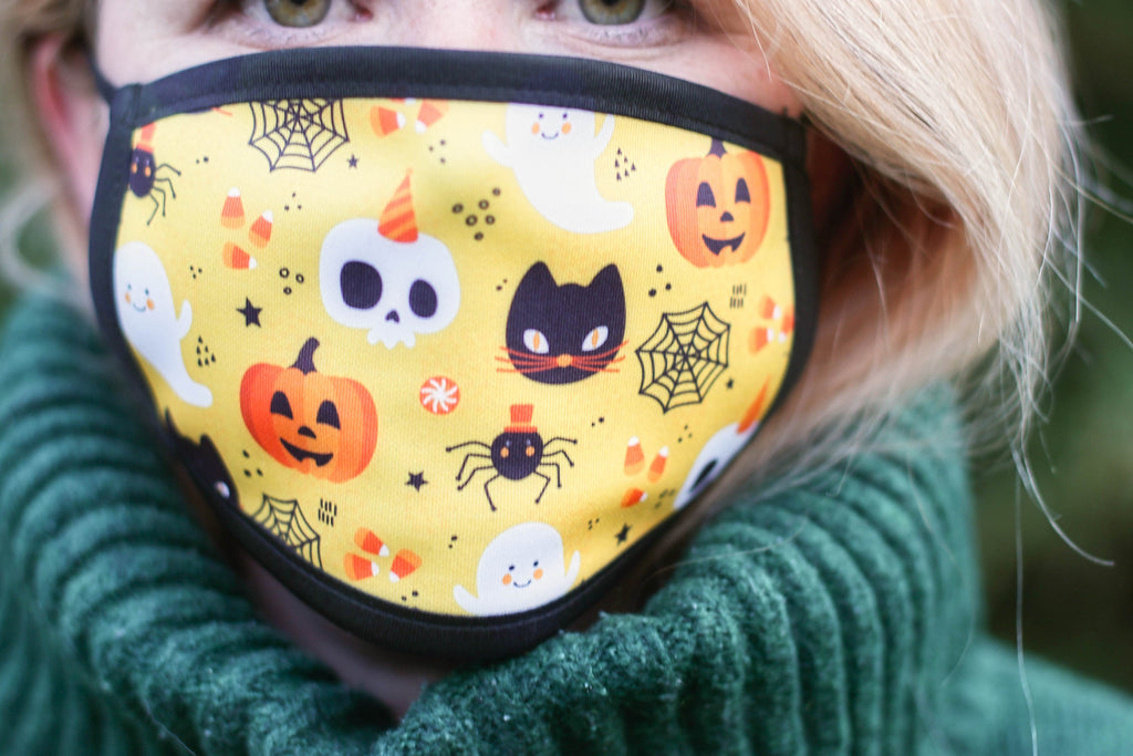 Halloween Triple Layer Washable Face Mask - FREE DELIVERY