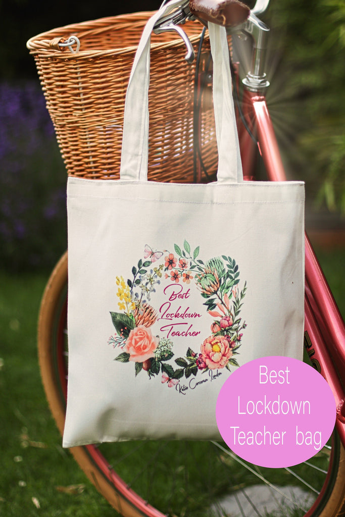 Teacher Gift Lockdown - Thank you teacher gift - best lockdown teacher gift - teacher thank you - teacher gift uk - Katie Corcoran