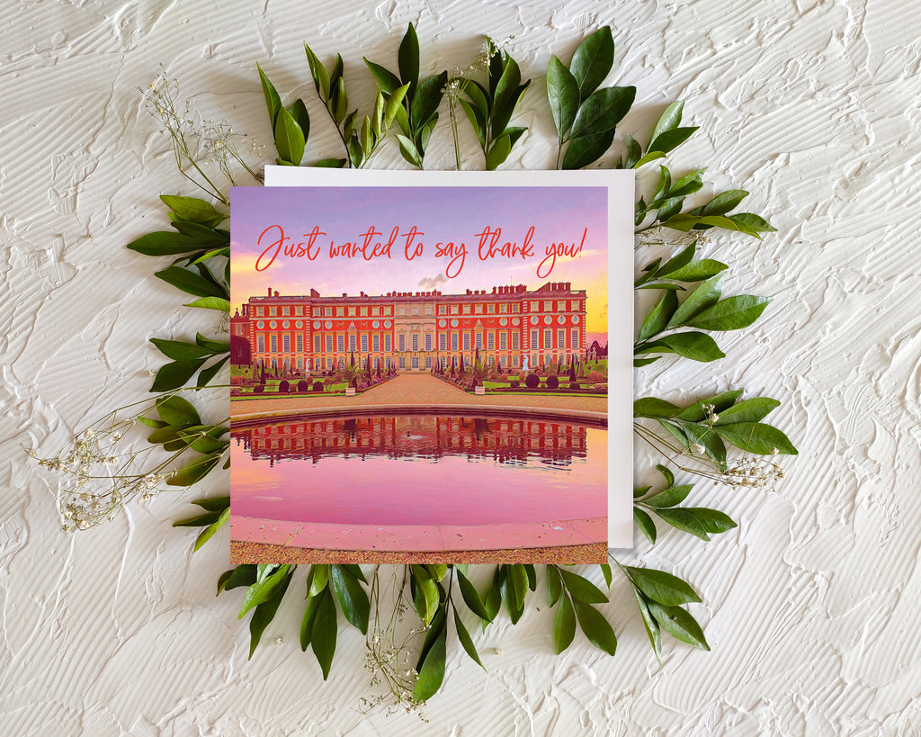 Hampton Court Thank You Card - Free Delivery