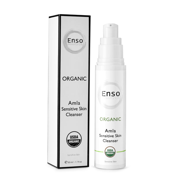 Enso Beauty Co. Amla Sensitive Skin Cleanser. Best Organic Face Cleanser for All Skin Types.