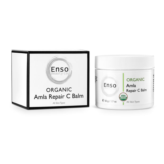 Enso Beauty Co. Amla Repair C Balm, Hydrating Moisturizer,Organic Body Cream