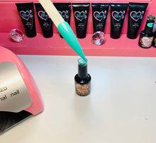 Load image into Gallery viewer, Mint Green Beautiful Nail Color Gel Polish