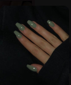 Light Green Beautiful Nail Color Gel Polish