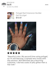 Load image into Gallery viewer, Nail Extension Gel Polygel Builder Gel for Nail Extensions