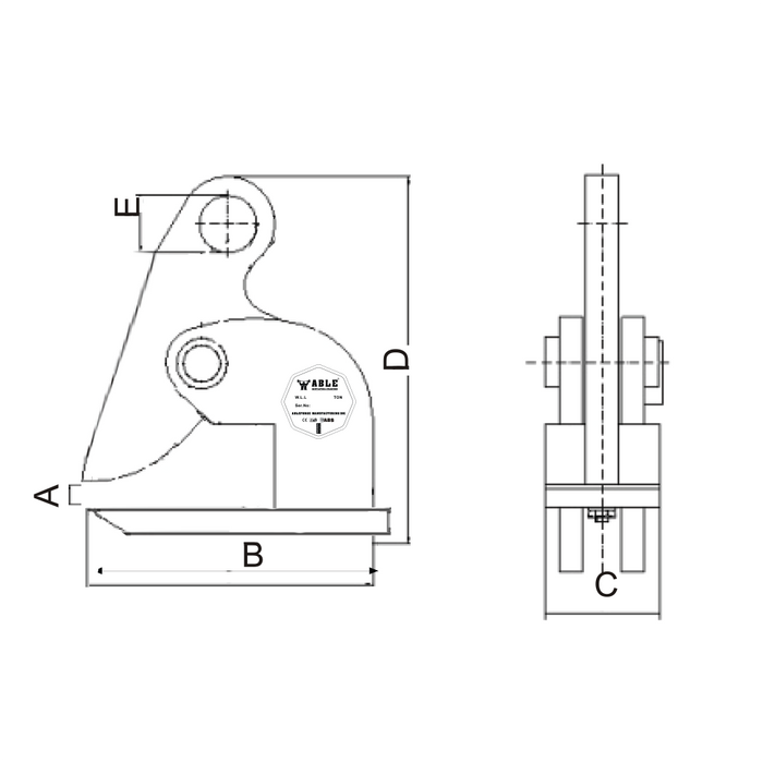 Lateral Plate Clamp - LPC - ABLE