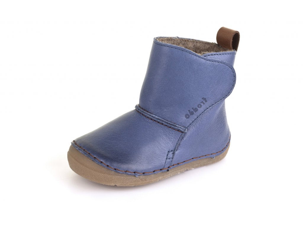 Froddo Wool Lined Boot, Blue.