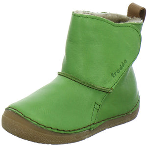 Froddo Wool Lined Boot, Green.