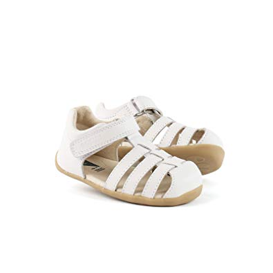 Bobux Step Up Jump Sandal, White.