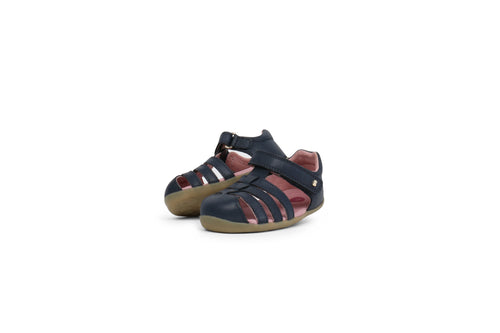 Bobux Step Up Jump Sandal, Navy.
