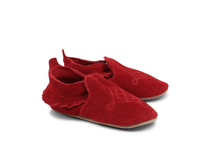 Load image into Gallery viewer, Bobux Red Tassle Moccasin
