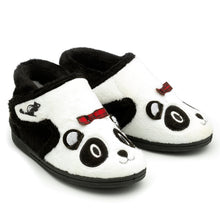 Load image into Gallery viewer, Panda Slippers
