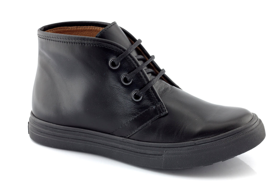 Froddo Black School Shoe G3110042