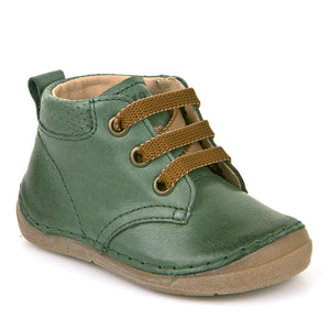 Froddo Lace Up Boot, Forest Green.