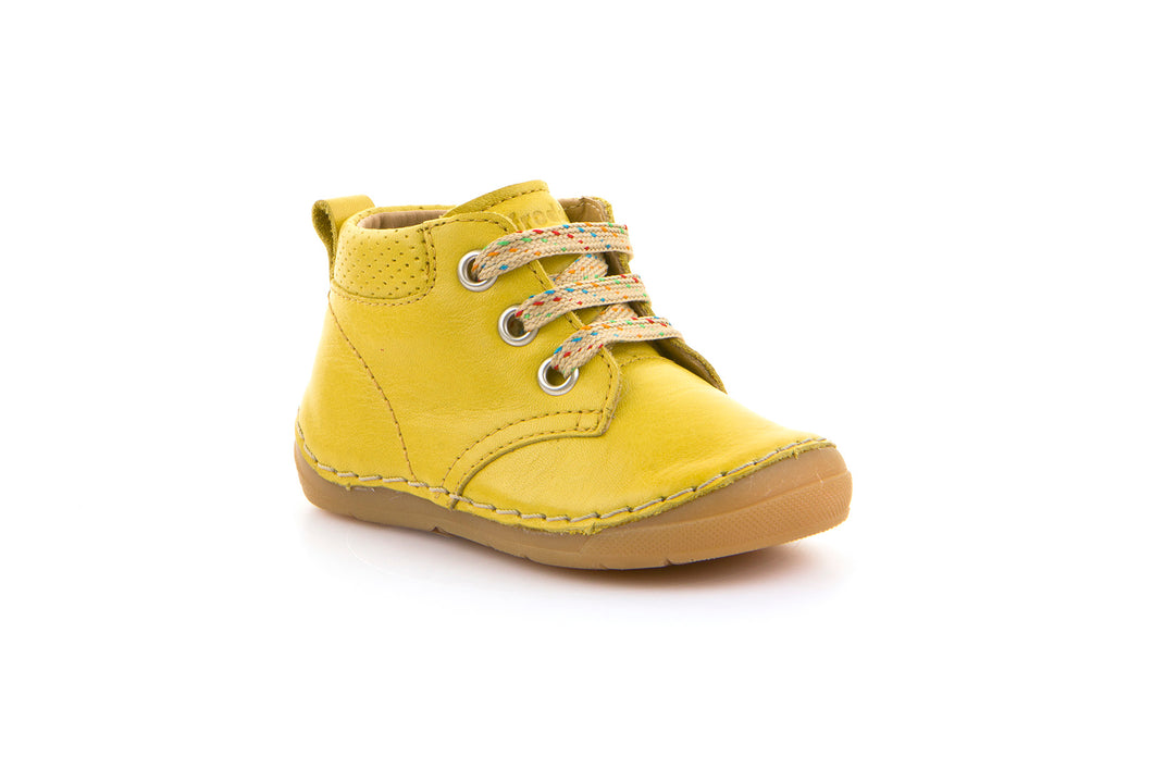 Froddo Lace up Boot, Yellow.