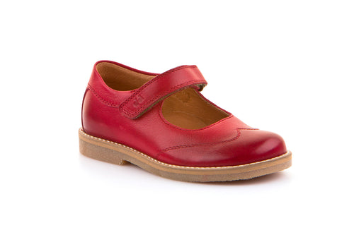 Froddo Classic Mary Jane, Ruby Red.