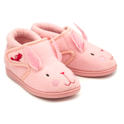 Katie the Rabbit Slippers Pink