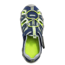 Load image into Gallery viewer, Pediped Canyon, Navy & Lime.