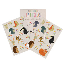 Load image into Gallery viewer, Rusty & Friends Temporary Tattoos