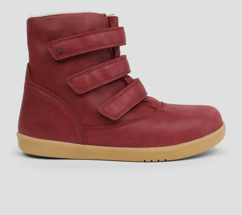 Bobux Aspen, Dark red (waterproof & merino lined)