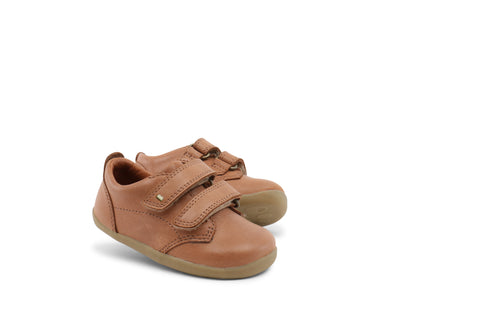 Bobux Step Up Swap Shoe, Caramel.