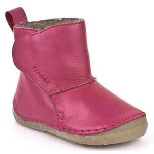 Froddo Wool Lined Boot, Pink.