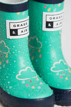 Load image into Gallery viewer, Grass & Air Wellies, Green (colour changing)