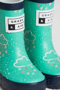 Grass & Air Wellies, Green (colour changing)