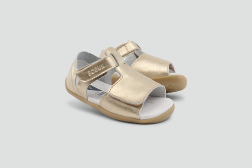 Bobux Step Up Misty Gold Open Sandal