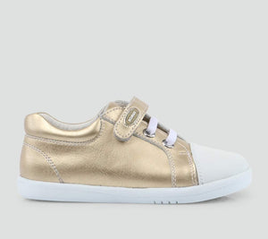 Bobux Rascal Casual Trainer, Misty Gold.