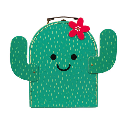 Sass & Belle Happy Cactus Suitcase