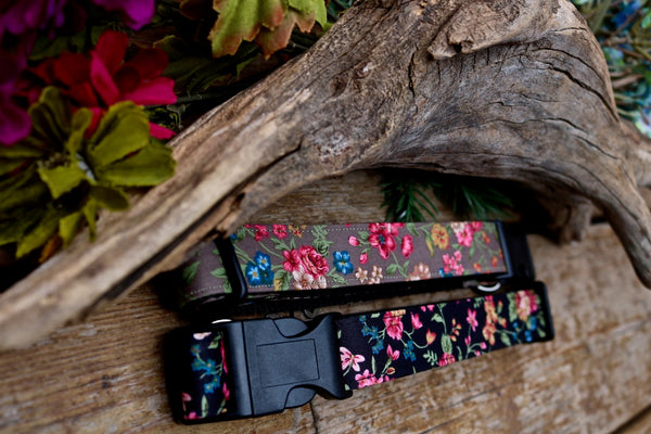 "Floral 1"" Collar (two colours)"