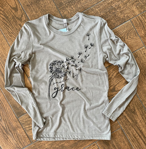 Saved by Grace - Long Sleeve Tee